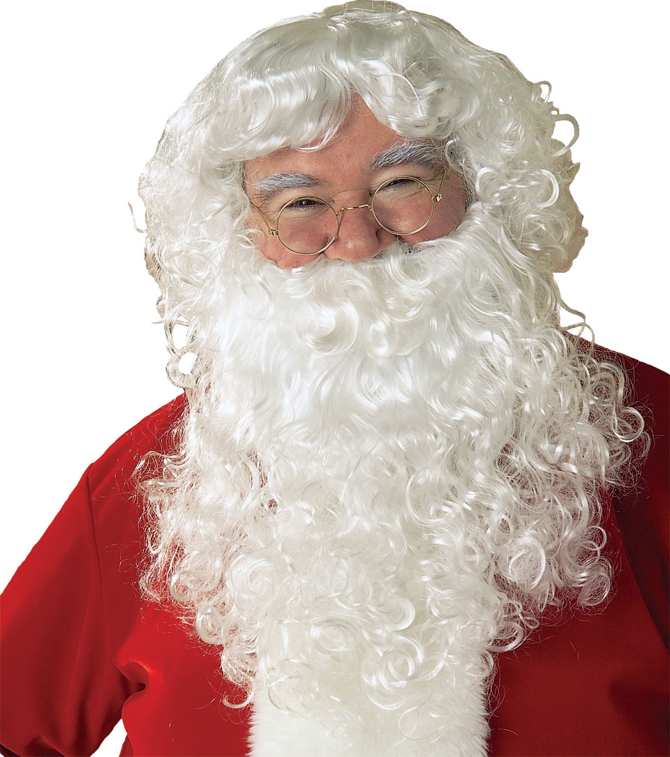Santa wig and beard set 2269 Rubies