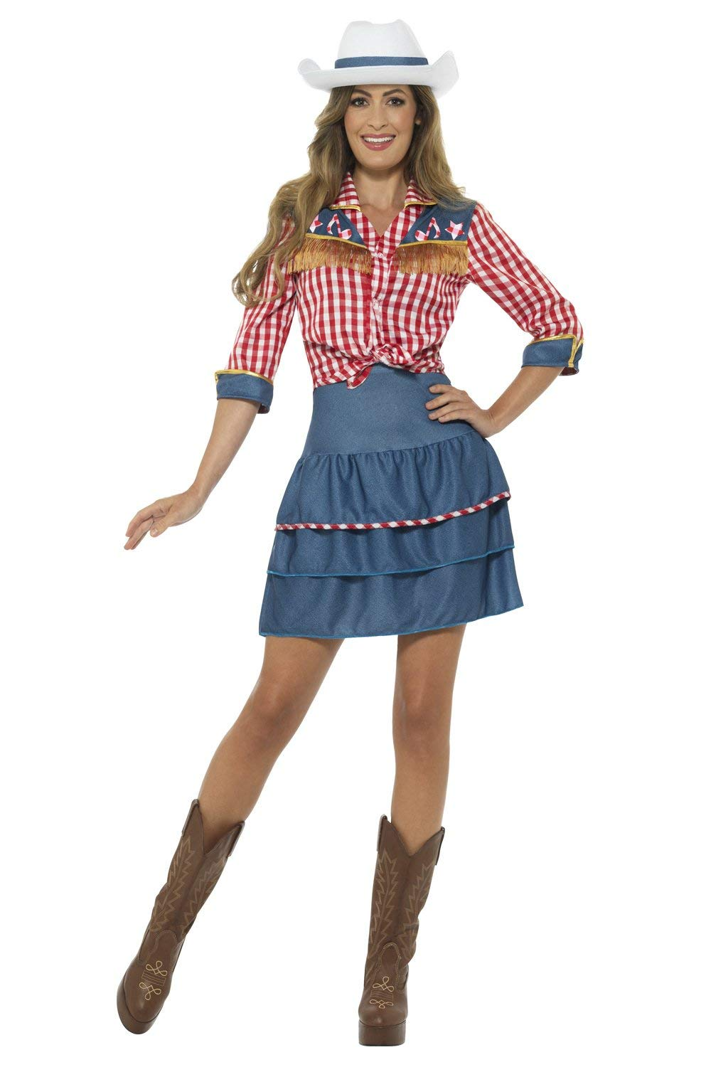 Adult Rodeo doll cowgirl 24648 Smiffys