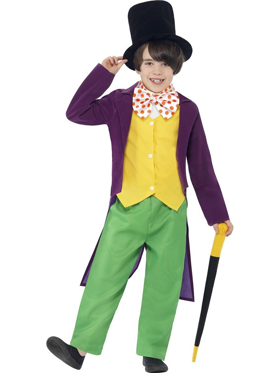 roald dahl willy wonka costume 27141