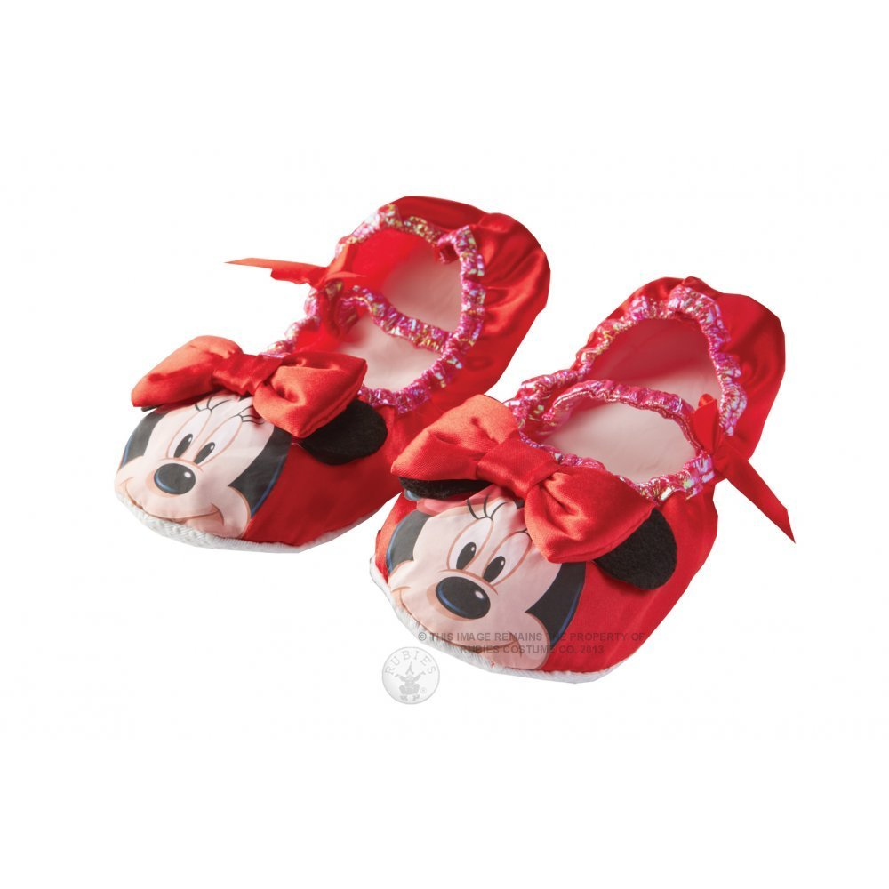 Girls Disney Minnie Mouse Slippers 30072