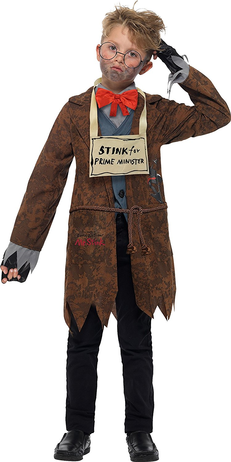 David Walliams Deluxe Mr Stink Costume 40204