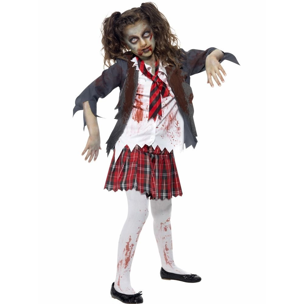 Zombie school girl costume 43025