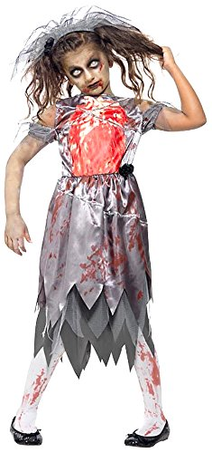 Zombie bride costume Teenager 13yrs (smiffys 43027