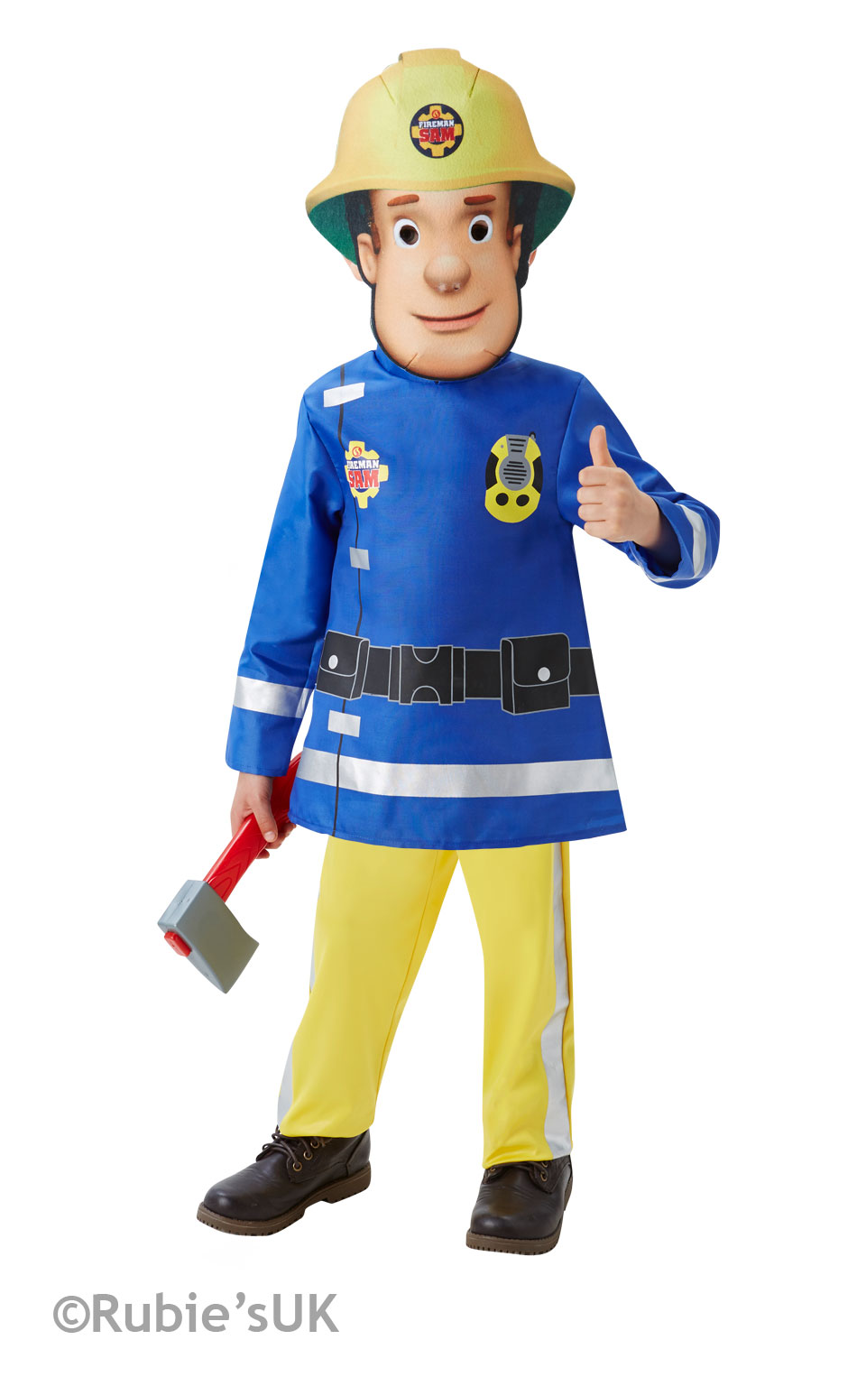 Fireman Sam costume 510156 toddler 2-3 years