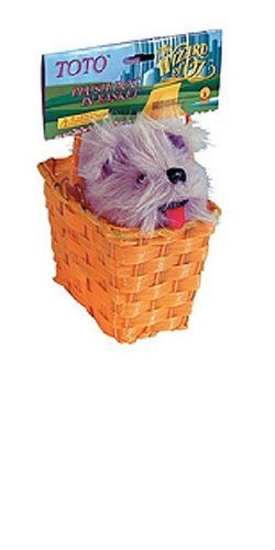 Wizard of Oz Toto in a Basket 533