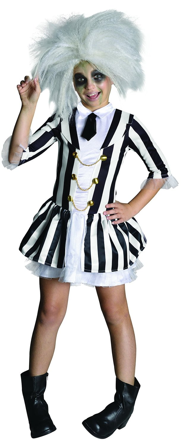 Girls Beetlejuice costume 610726. Large 8-10 years
