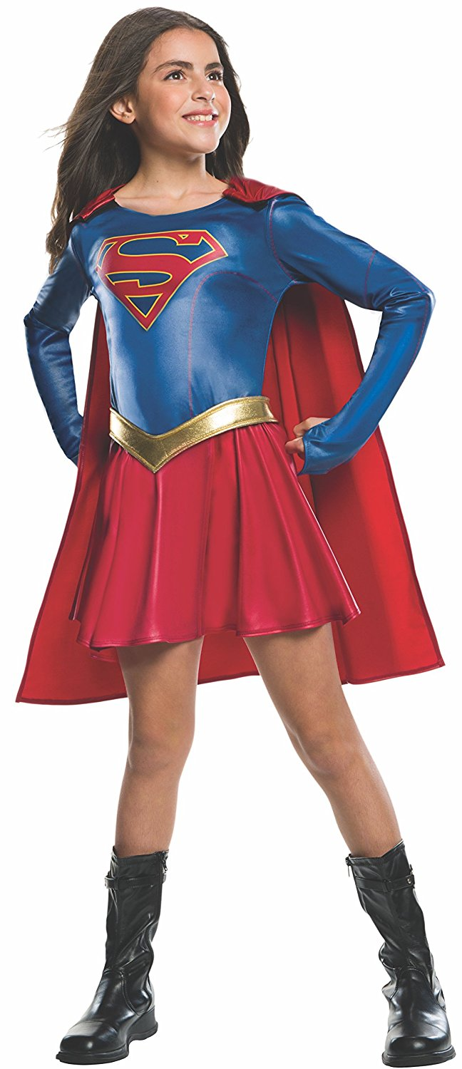 Deluxe Supergirl child costume 630076