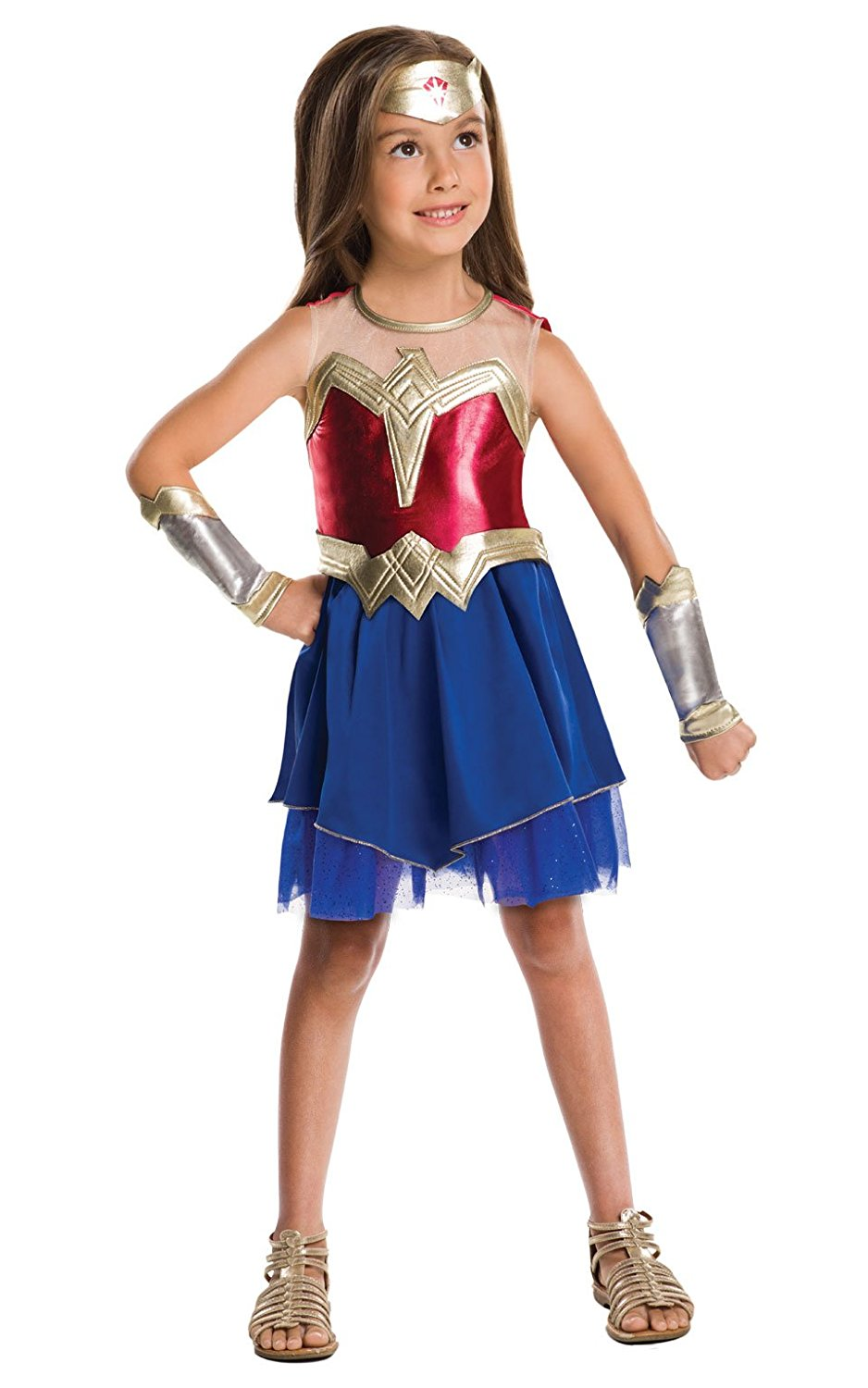 Wonder Woman Costume 640816. 9-10 Years