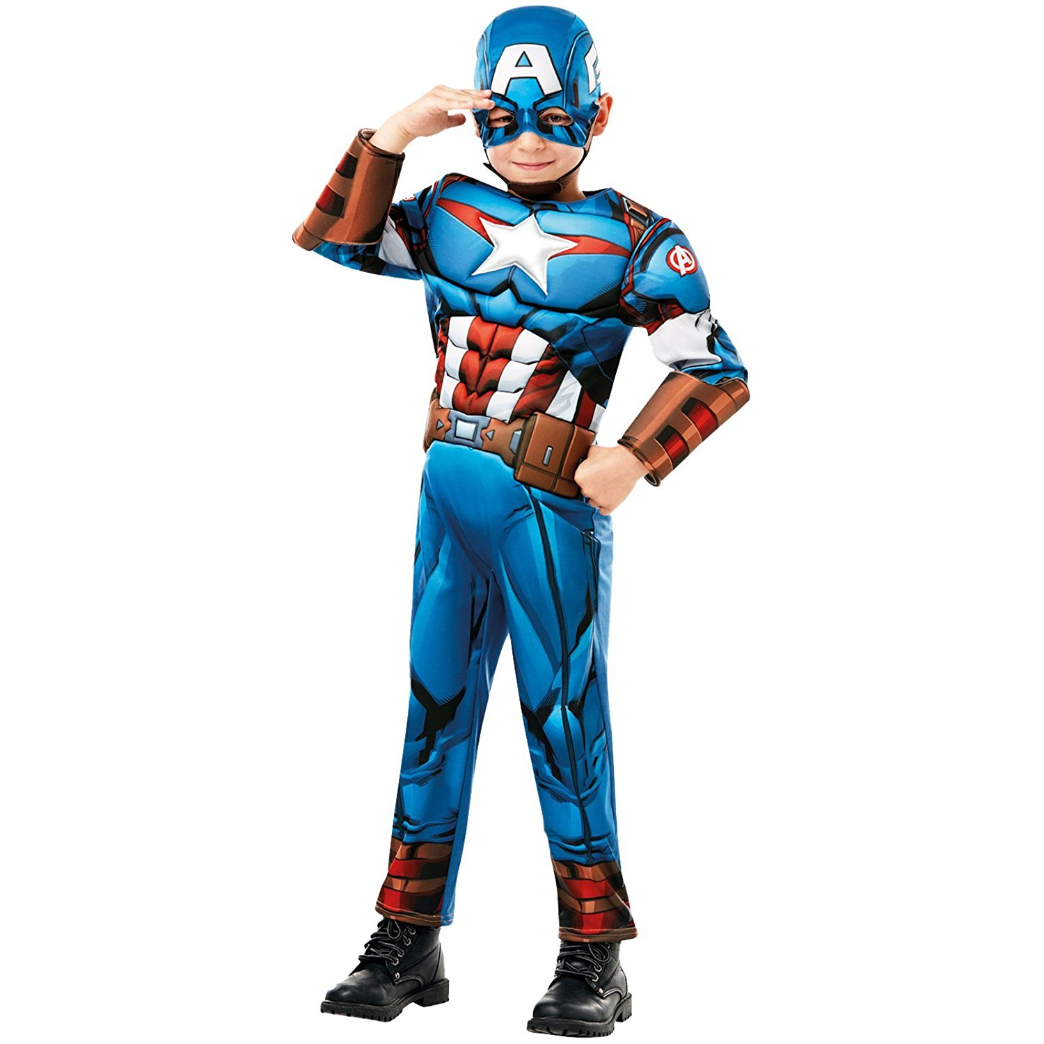 Marvel deluxe Captain America costume 640833