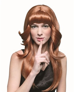 70's brown flick wig ew8087