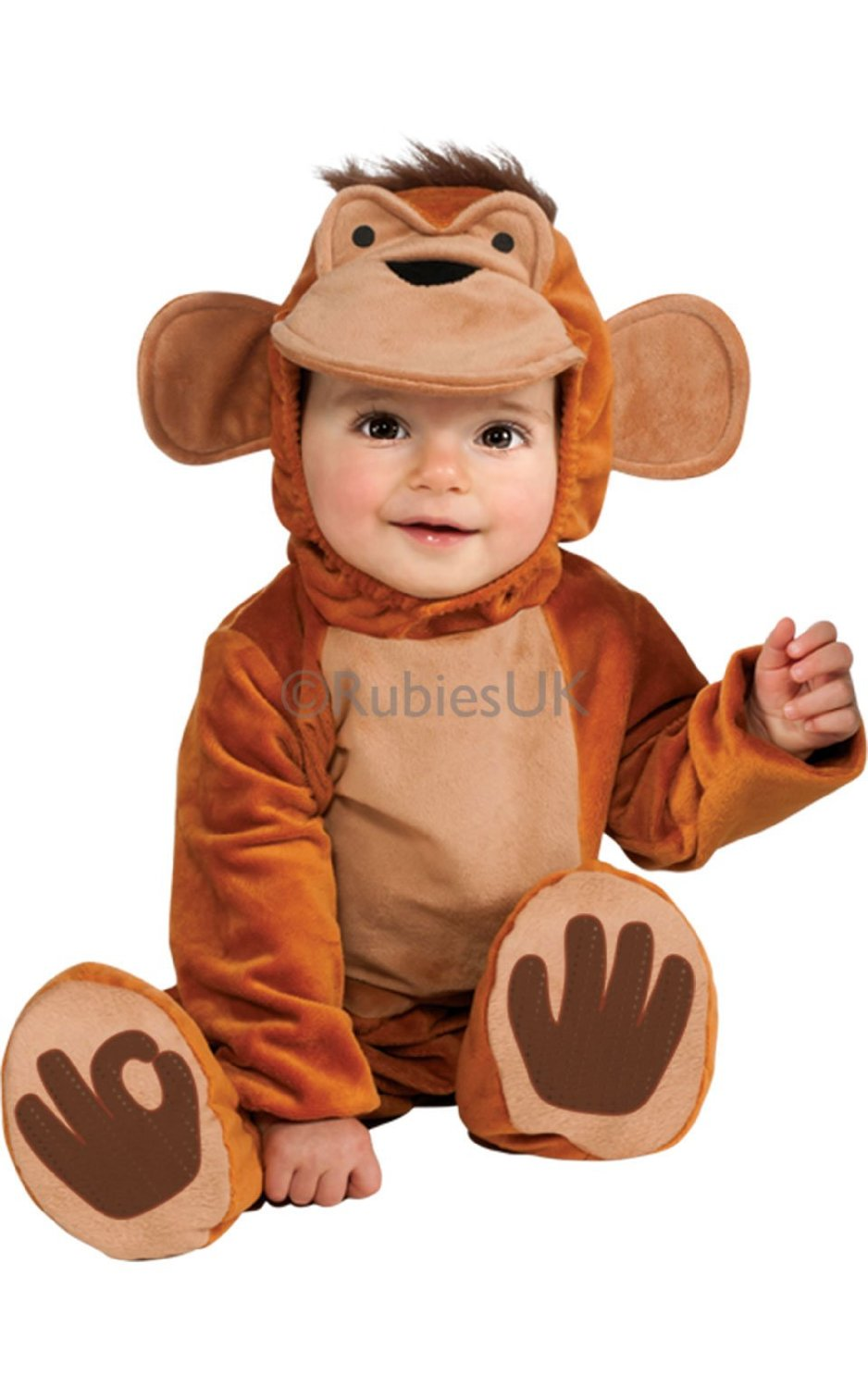 Funky Monkey Animal Costume 881524