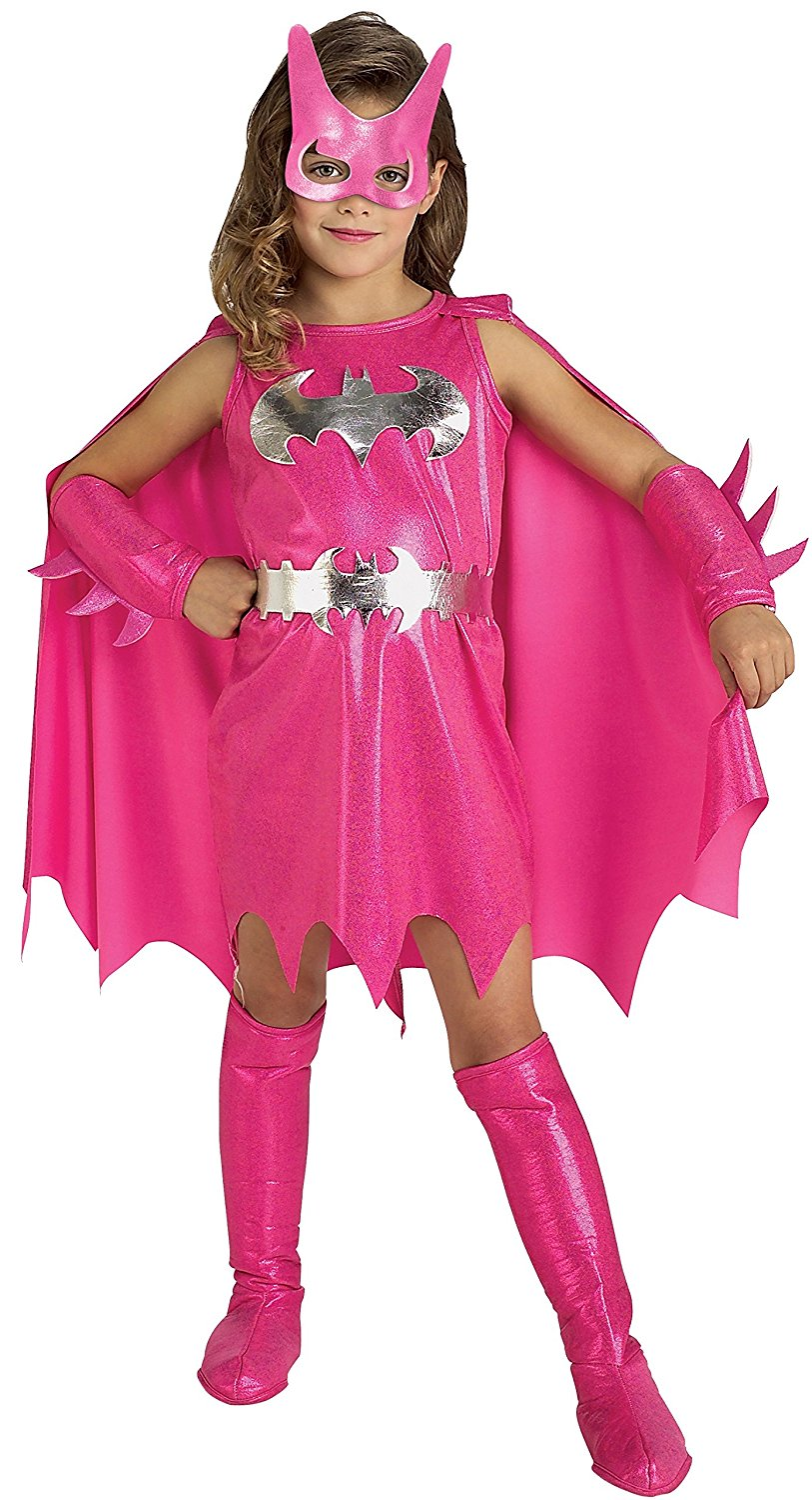 Pink Batgirl costume 882754 Medium 5-7 years