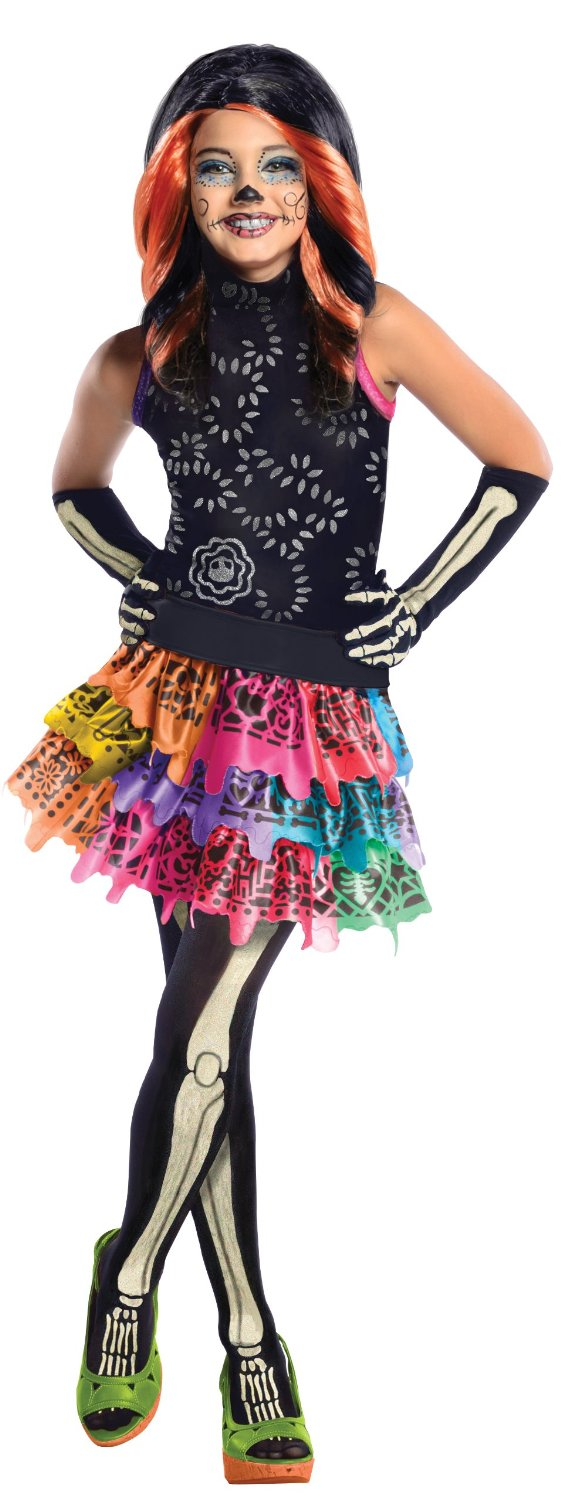 Monster High Skelita Calaveras Costume 886700