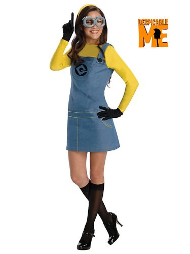 Womens Disney Despciable Me Minion Costume 887200