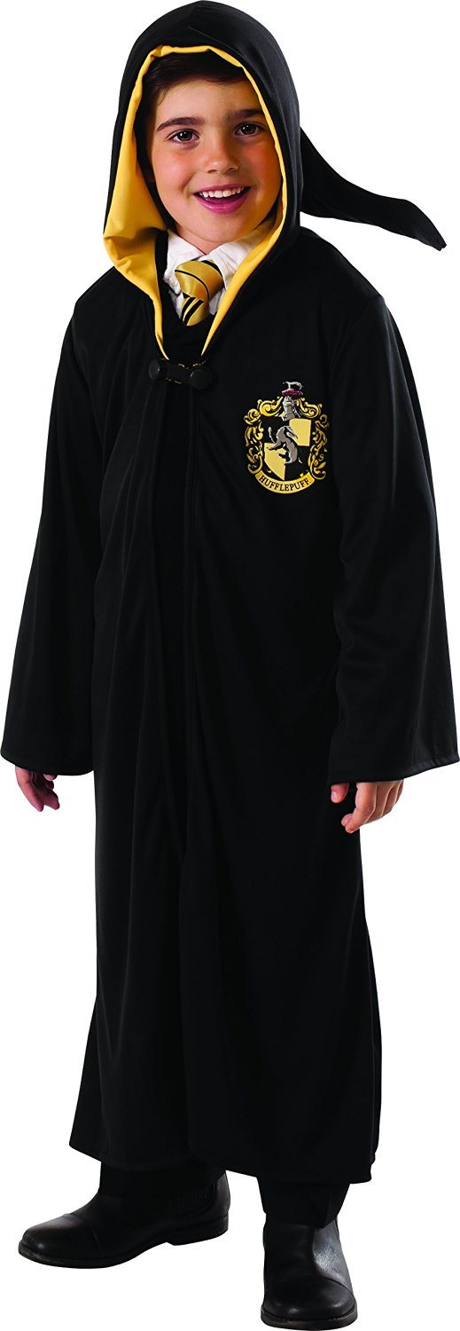 Hufflepuff robe large 8-10 years (888335)
