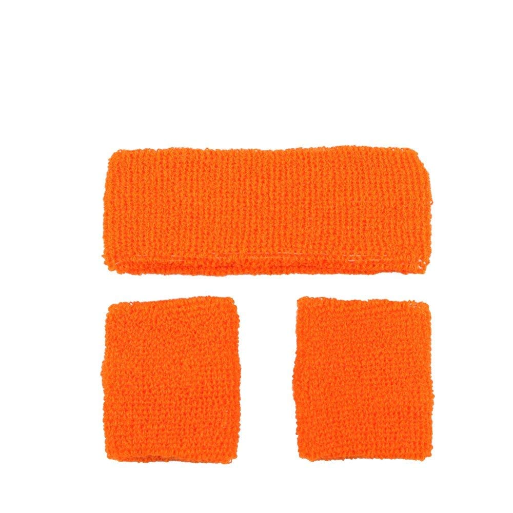 Orange sweatbands ac9334 Wicked