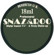 Black snazaroo Face paint 18ml