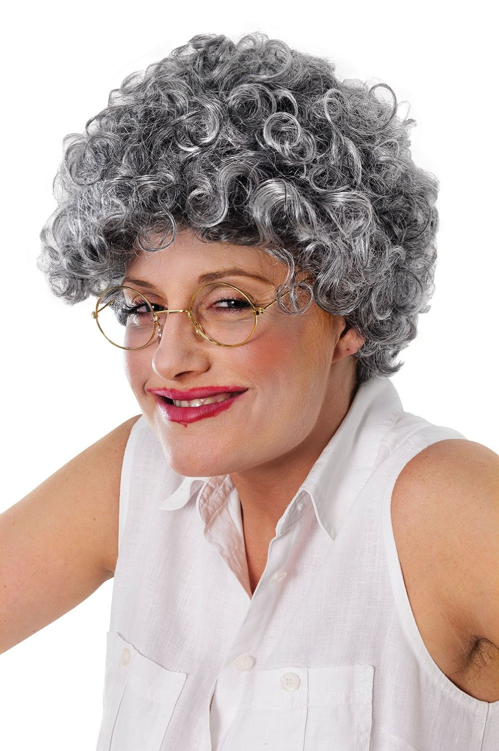 Old Lady Wig bw781