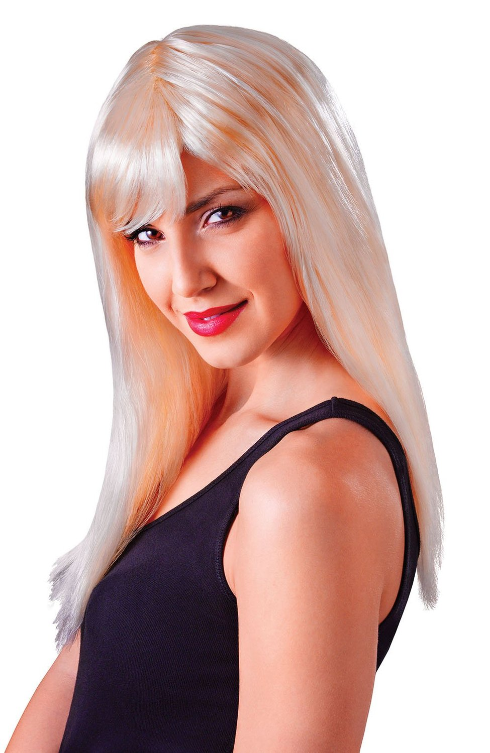 Blonde long passion wig bw873