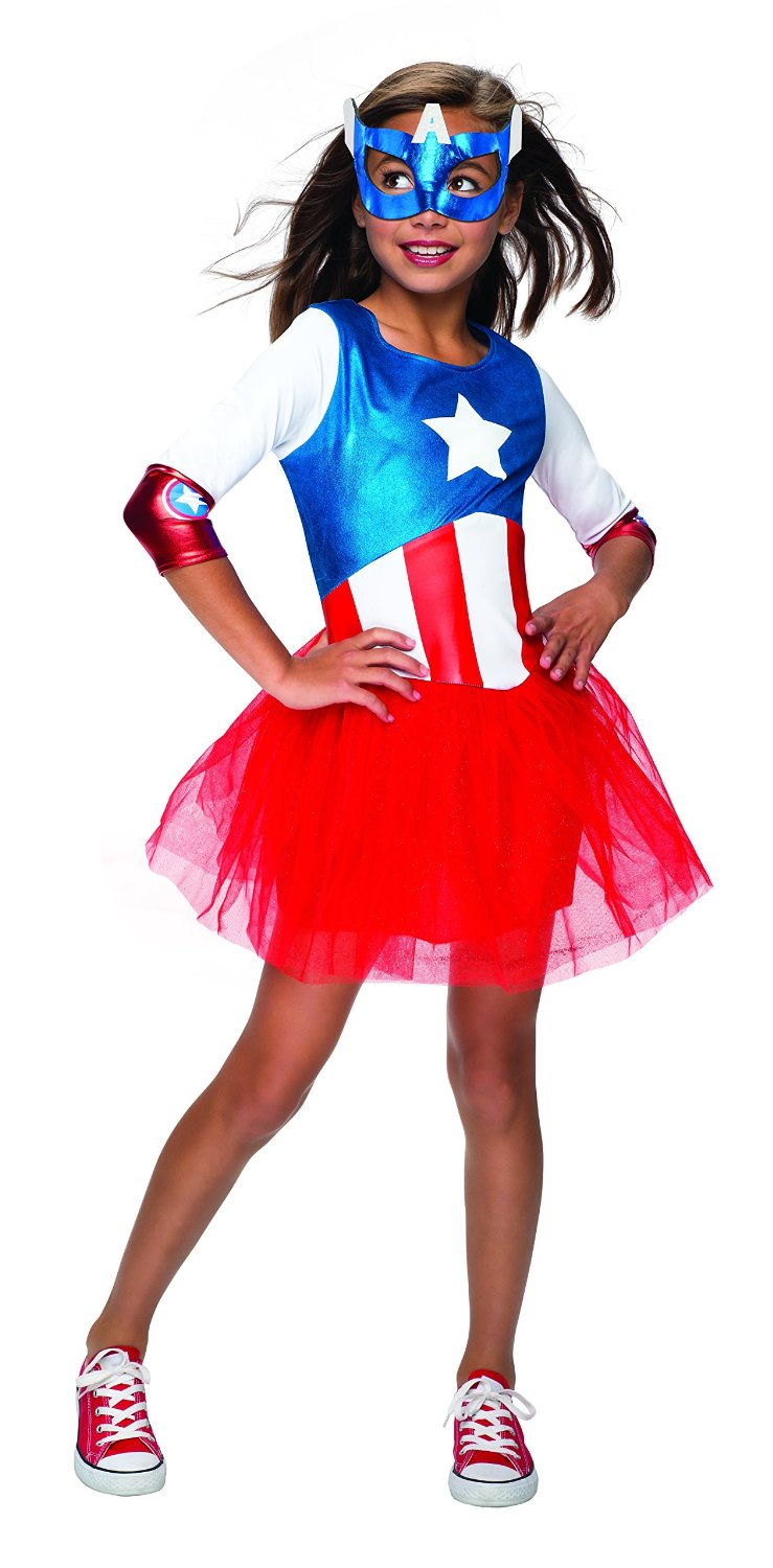 American Dream Captain America Metallica girls cos