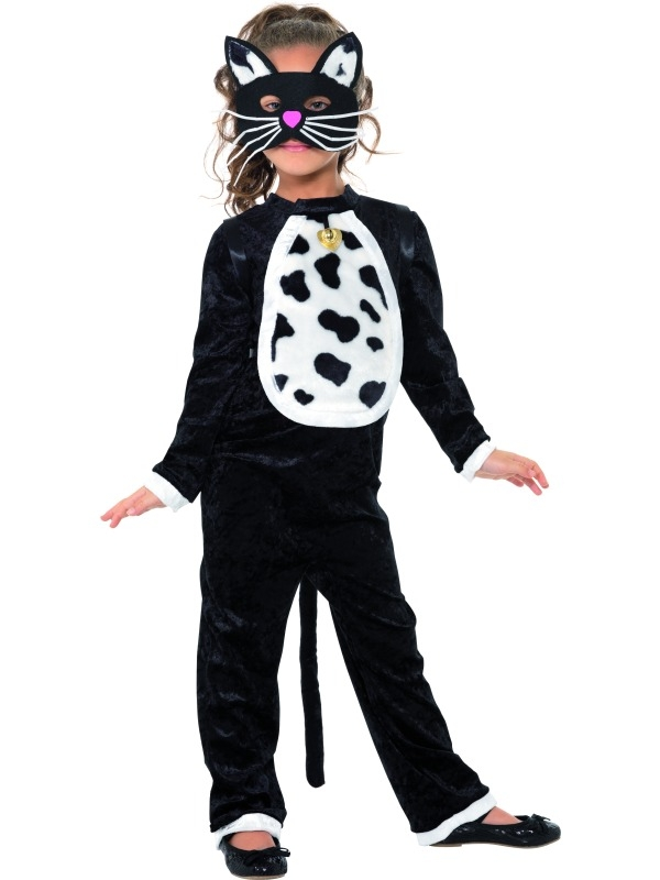 Cute cat kids costume 35998 large 10-12yrs