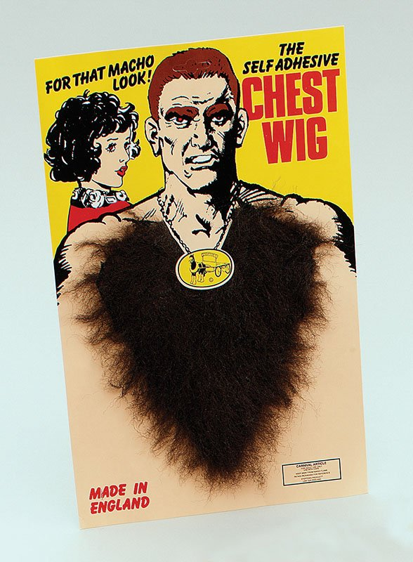 hairy chest wig MD037