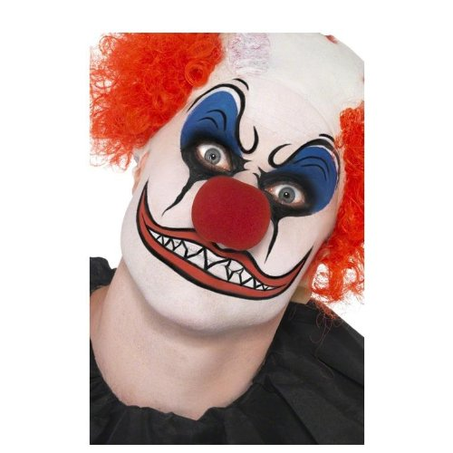 37805 Clown make up set with nose, Smiffys