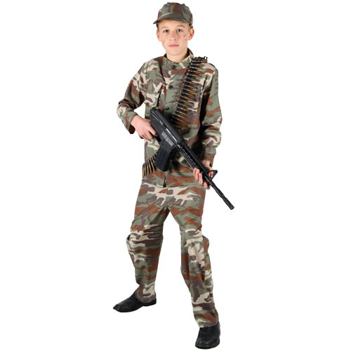 Commando costume teens EMT4900