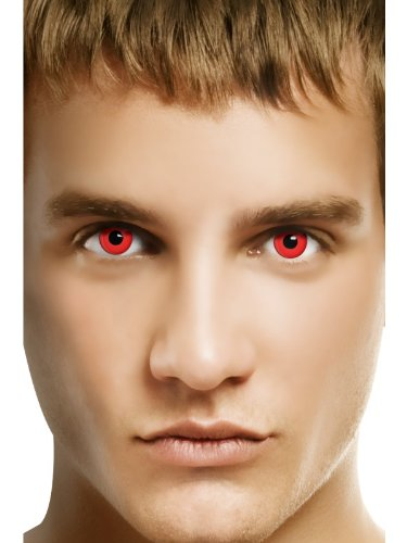 Smiffys contacts red devil 23650