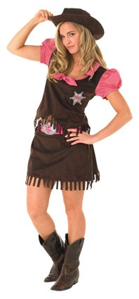 Cowgirl adult  costume 889507 large