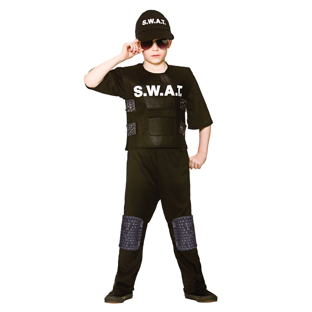 S.W.A.T team commander costume eb4113