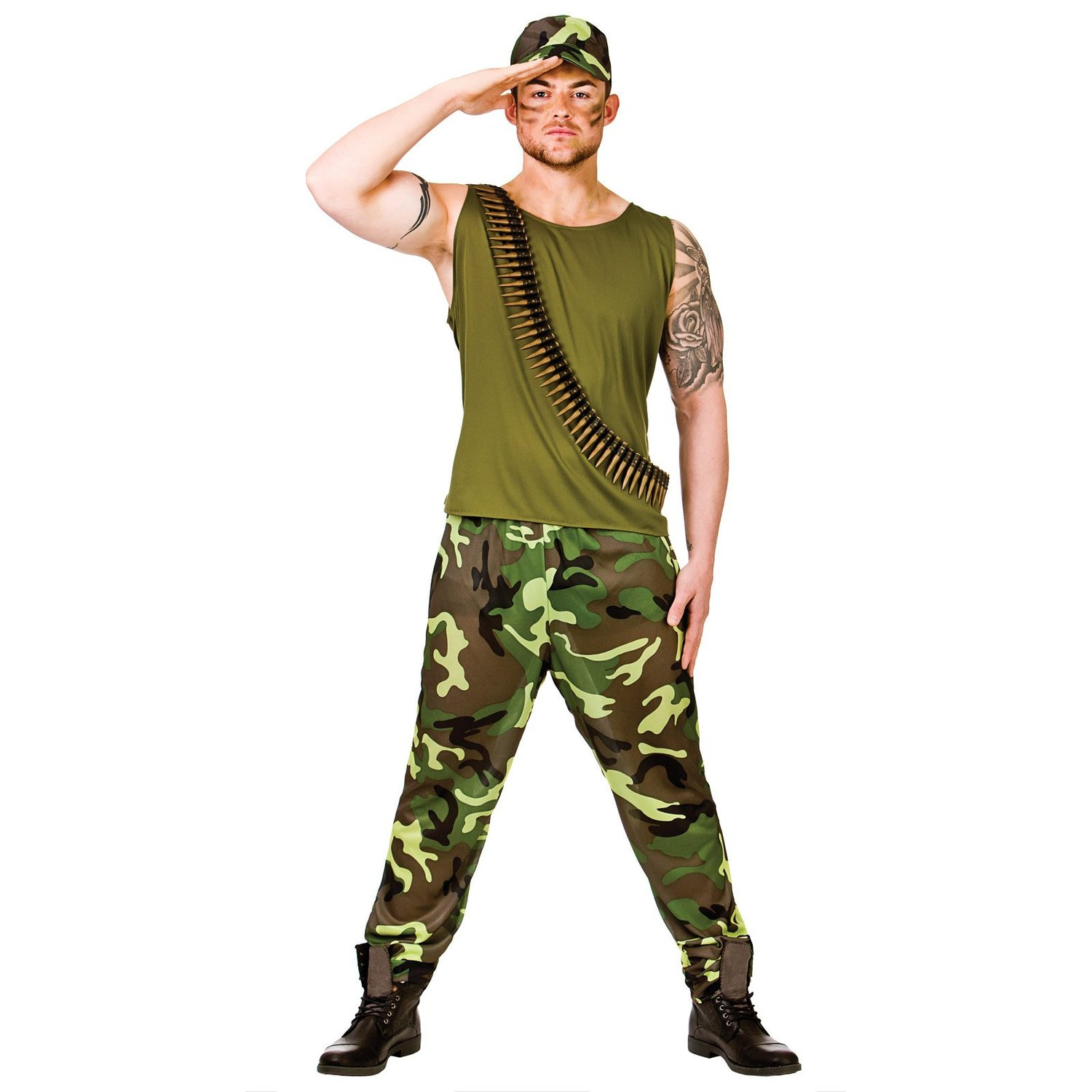 Adult army guy (wicked em3028)
