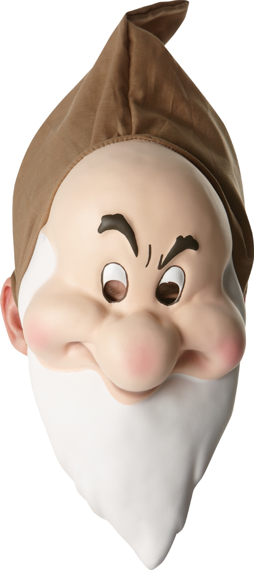 Disney's grumpy mask 4748
