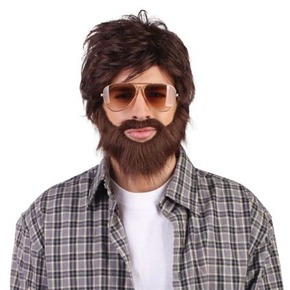 Hangover wig and beard -BW750