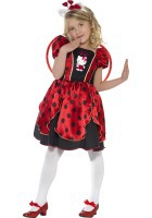Hello Kitty Lady Bug Fairy Costume ef-37238M
