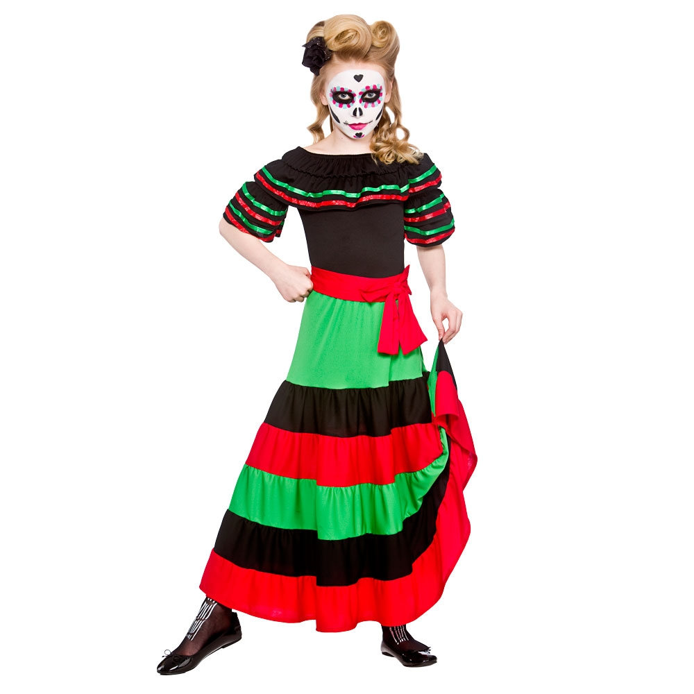 Mexican Day of the Dead senorita girls hg6047