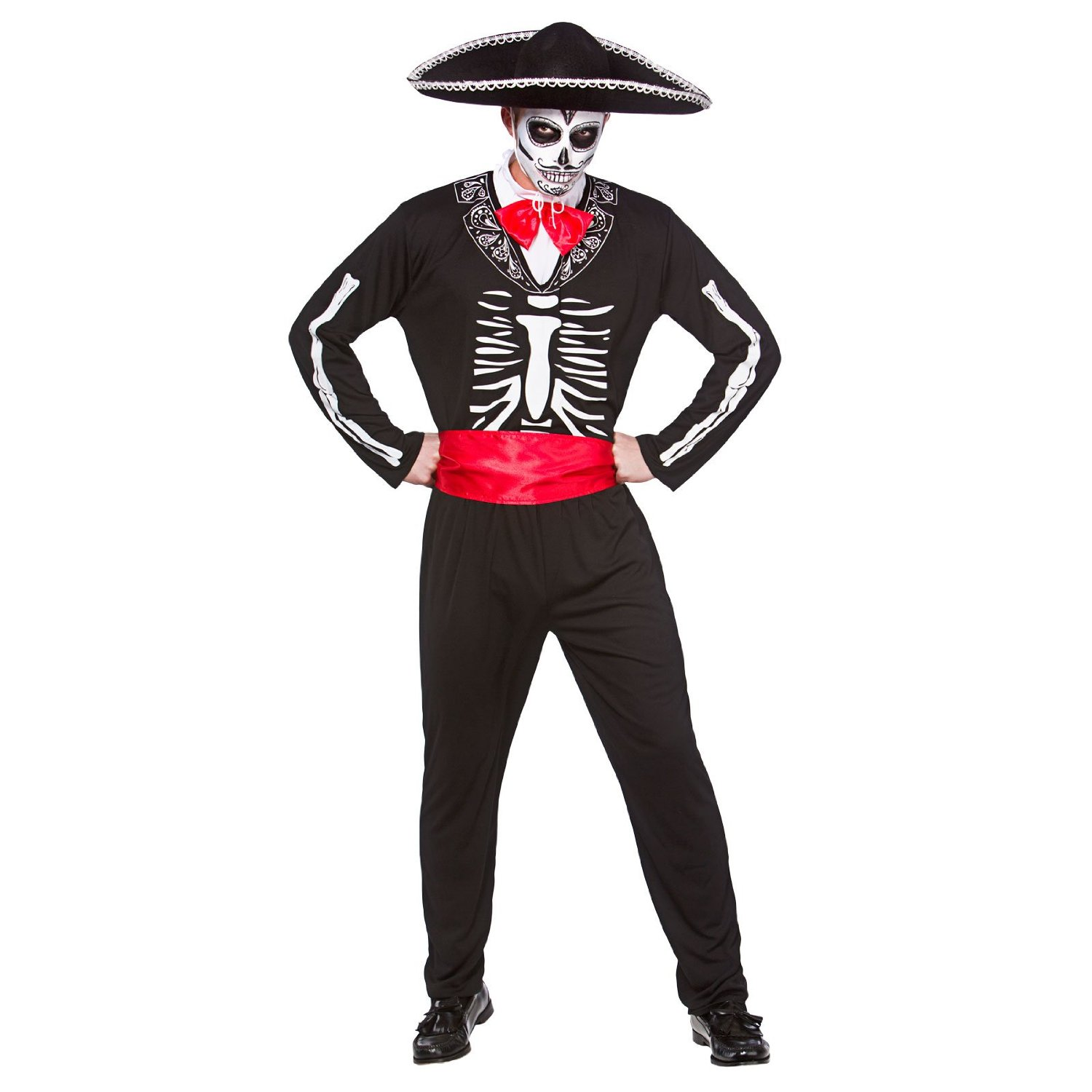 Adult Day of the dead senor costume hm5540