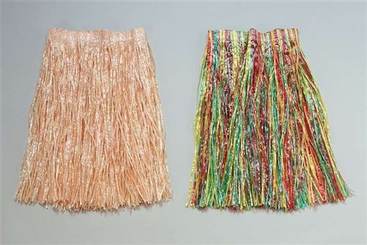 Kids grass skirt multi BA109