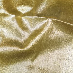 Japanese Paper Lame Dress Fabric Gold per 1 metre
