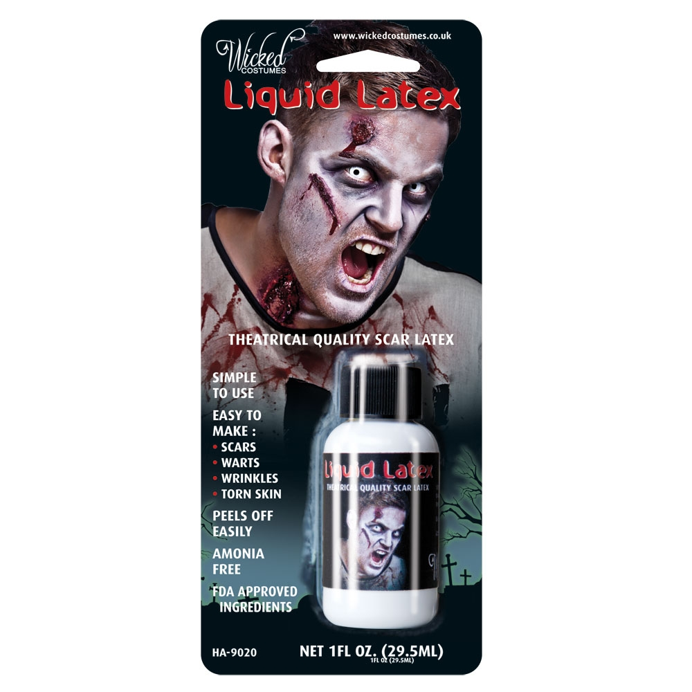 Liquid latex wicked (1 FL. OZ)
