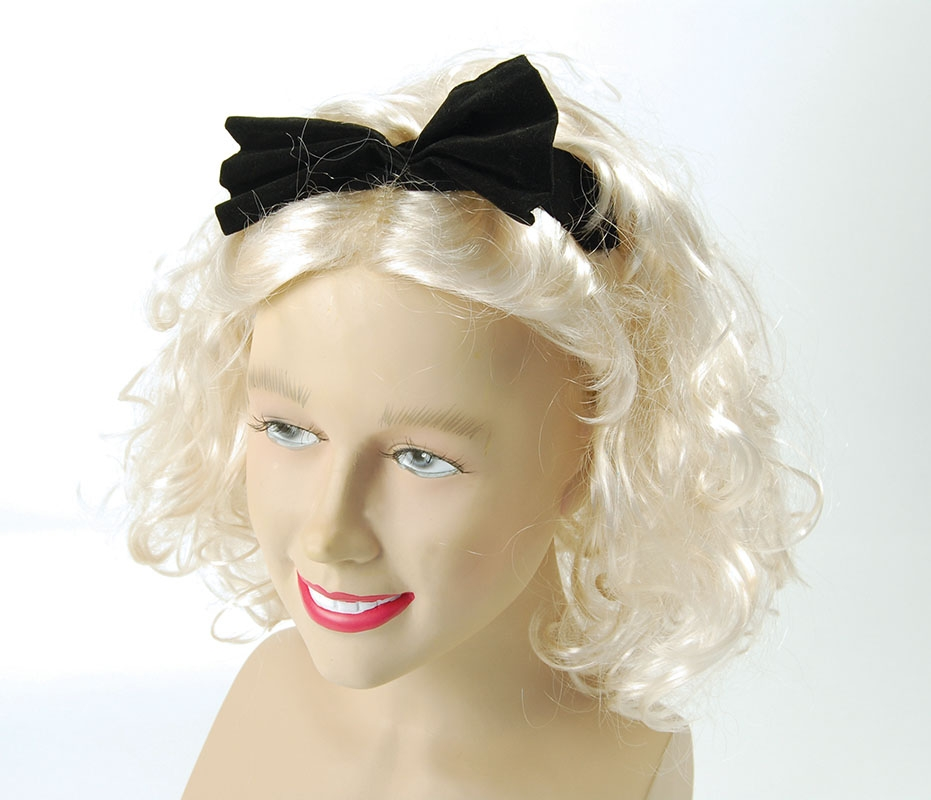 Blonde material girl wig BW674