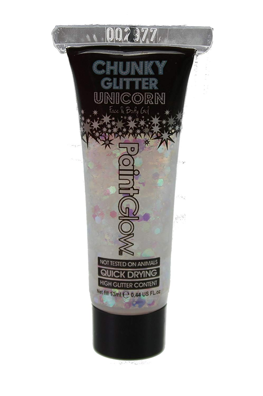Paintglow unicorn tears chunky glitter gel tube PG