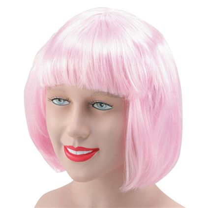 China doll wig light pink BW471