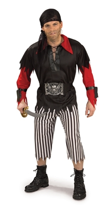 Pirate King adult  costume 887016