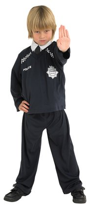 Policeman costume boys 883610