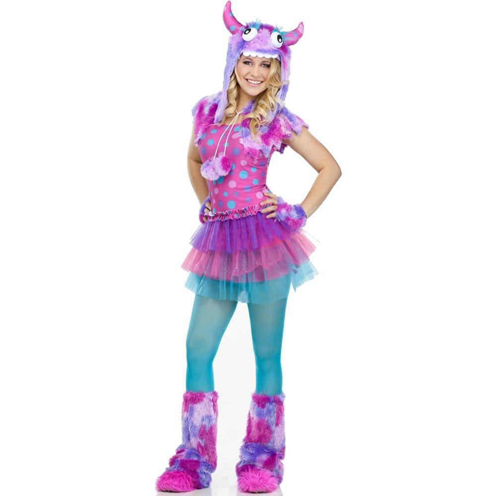 Polka dot monster tutu style wicked adult 12-14