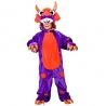 Purple Monster costume onesie KA-4487