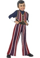 Lazy Town Robbie Rotten Costume ef-38360M