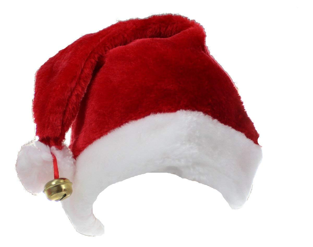 Deluxe santa hat with bell XM-4610 wicked