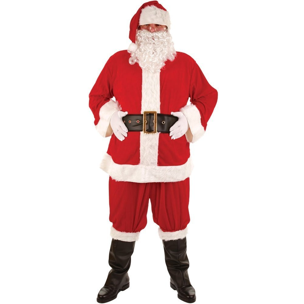 Deluxe Santa Suit (8 pieces) xm4513wicked